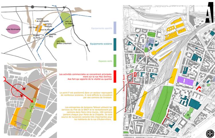 analyse urbaine quartier Marx Dormoy