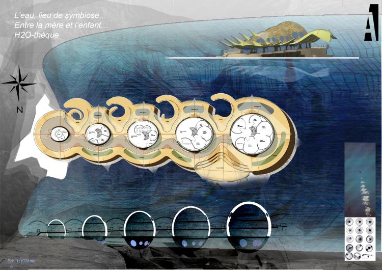 concept d'habitat flottant