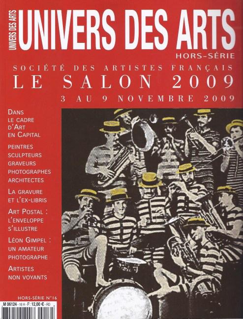 """parution dans """"Univers des Arts"""" Hors-série n°16, novembre 2009"""