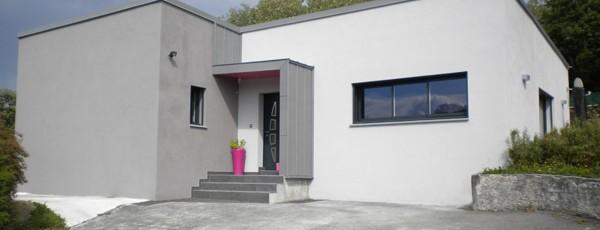 maison individuelle contemporaine de plain-pied