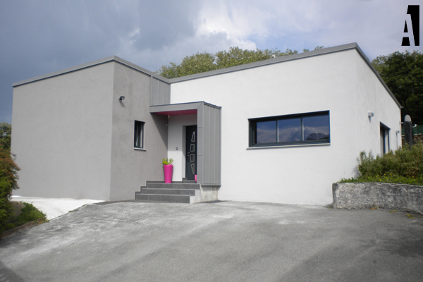 Maison Contemporaine HauteSavoie  Section A Architectes