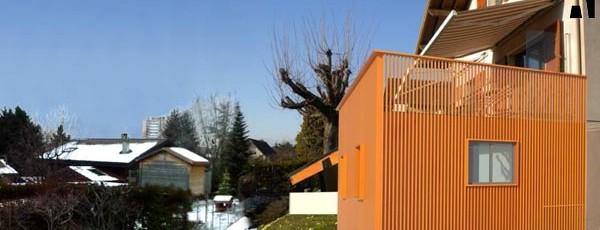 extension en bois d'une maison